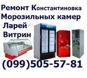 Ремонт Холодильников Витрин Ларей Морозильных камер Константиновка